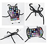 Whellen Universal Multi-Function Portable Spider Flexible Grip Holder for iPhone XS/XR/6s/7/8 Plus, Samsung Galaxy S8/S9/Edge/Plus