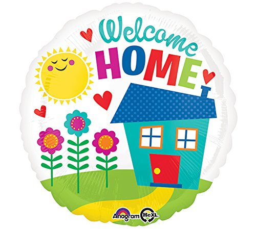 Burton & Burton Welcome Home Foil/Mylar Balloon
