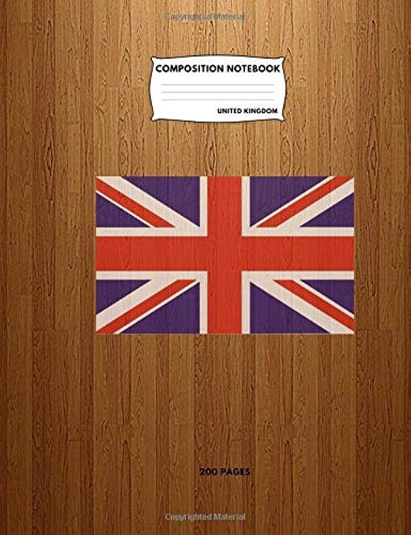 騒ぎ乱闘のれんComposition Notebook United Kingdom: College Ruled Journal To Write In For School, Take Notes, For kids, Students, Teachers, Homeschool, United Kingdom Flag Cover:200 Pages