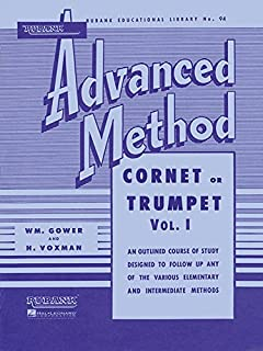 Rubank Advanced Method - Cornet or Trumpet, Vol. 1 (Rubank Educational Library)