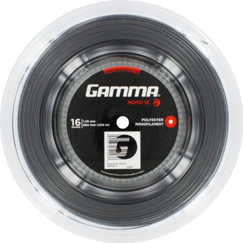 Gamma Moto 17 Reel (Black) by Gamma