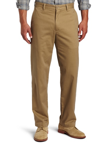 Dockers Men's Saturday Khaki D3 Classic-Fit Flat-Front Pant, New British Khaki - discontinued, 30W x 32L
