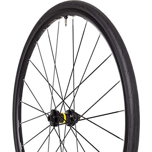 Mavic Ksyrium UST Disc Wheel Black, Front, 12x100