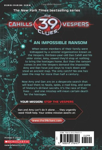A King's Ransom (The 39 Clues: Cahills vs. Vespers, Book 2)