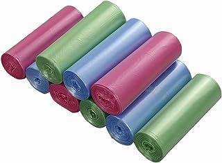 Ordate Bolsas de Basura con 9 Rollos, 40 L, Color Azul,
