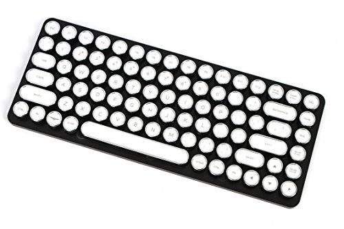 ELRETRON Penna Tastenkappen-Set für Penna Tastatur Us Tastenlayout 405mmX230mmX74mm Chrome Weiß