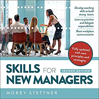 Skills for New Managers audiobook cover art