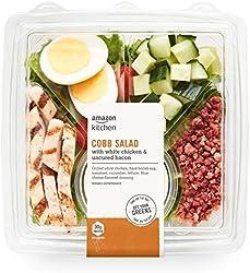 Amazon Kitchen, Cobb Salad with White Chicken & Uncured Bacon, 14.8 oz