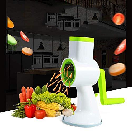 4 in1 vegetal Chopper-máquina de cortar vegetal Dicer-máquina de cortar cebolla máquina de picar alimentos Chopper Veggie máquina de cortar Manual de repollo, zanahoria, patata, tomate ZHHIS