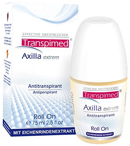 Transpimed Axilla Extrem Antitranspirant Deo gegen starkes Schwitzen - Schweiß und Geruch Roll-On 75 ml