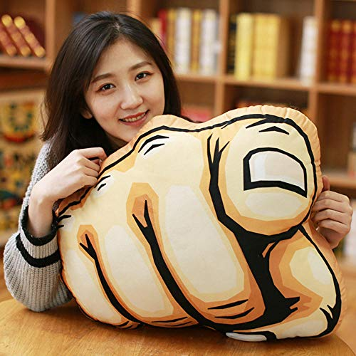 CPFYZH 20-60Cm Gesture Cushion Boyfriend Arm Pillow Pillow Muscle Muscle Plush Thumb Pillow Toy-The Index Finger Points To The Previous Paragraph_20Cm