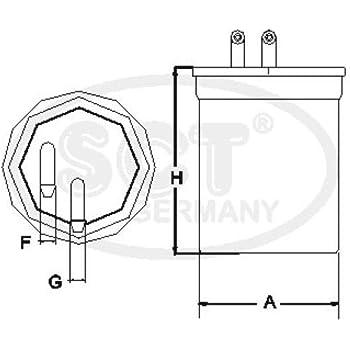 SCT Germany ST337 Kraftstofffilter