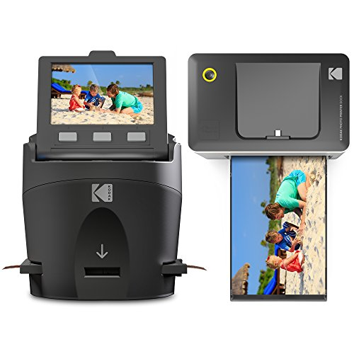 Review Kodak Scanza Film Scanner & Dock Printer Bundle - Scan, Save and Print Negatives & Slides to ...