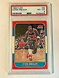 1986-87 Fleer Rookie Card #26 Clyde Drexler RC PSA NM-MT 8#45704008