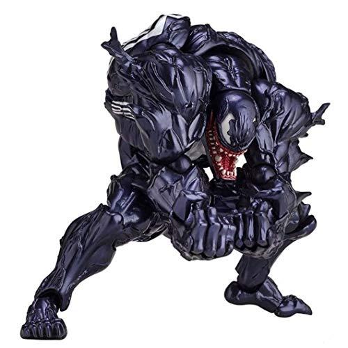 Venom Anime Action Figure Supereroe PVC Mobile figure mobili Carattere Collezione Modello Statua Giocattoli Desktop Ornaments