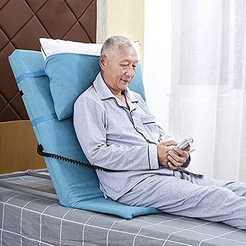 wsbdking Almohada, respaldo de la cama eléctrica, respaldo ajustable portátil. Tubos de acero inoxidable Tubos de acero inoxidable Soporte para el respaldo del respaldo para la cabeza de la cabeza del