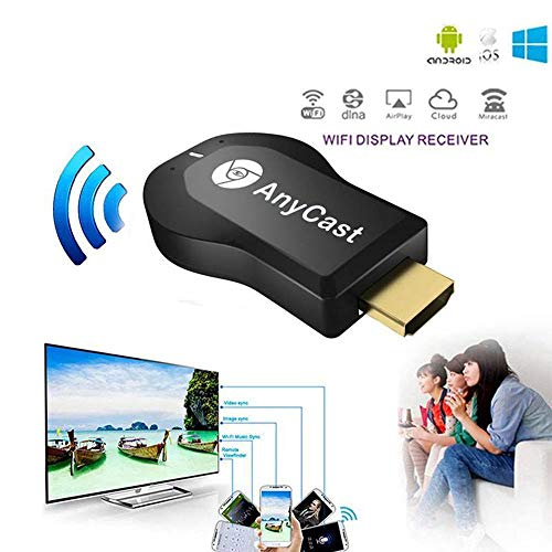 YUHUANG Anycast M2 Plus Draadloze Wifi Display TV Dongle Ontvanger voor Airplay 1080P HDMI TV Stick voor DLNA Miracast telefoons