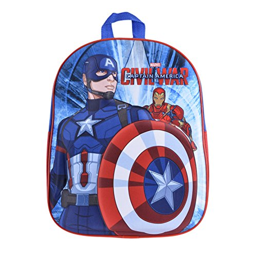 Zaino 3D Captain America - Civil War per bambini