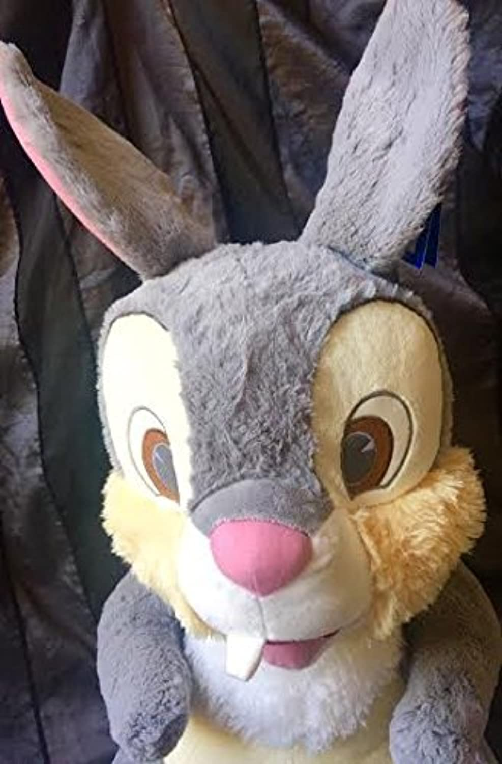 Authentic Disney's Ex Large Plush Soft and very fluffy bunny toy  29  Thumper Rabbit from Bambi