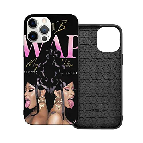 Cardi B iPhone 12 Phone Case.with Clear Appearance Protection,Made of Ultra-Thin Shockproof Hard Rubber Iphone12 Pro Max-6.7