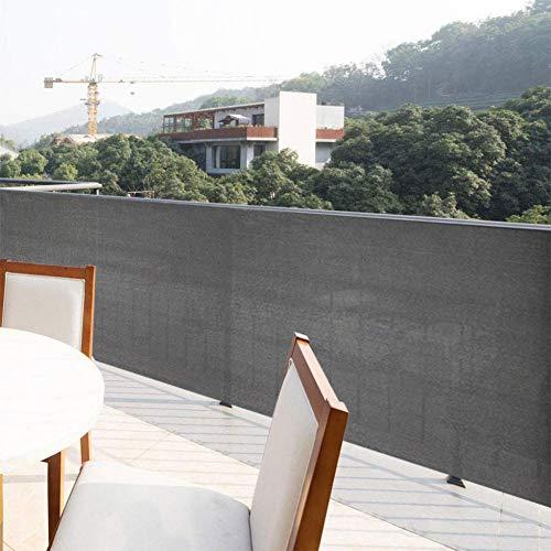 PLYTFM Balcón Pantalla de privacidad, 0.9x5m Balcón Jardín Valla Cubierta de Cubierta Vista de la Cubierta Toldo del Patio Toldo para Balcones caseros