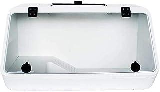 乾燥プラットフォームカメ斜面ボックスタートルハムスターケージと爬虫類テラリウムブラジル亀スコーピオンヘビトカゲクモ爬虫類家ペット用品 (ホワイト)