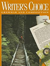 writer's choice grammar and composition grade 10