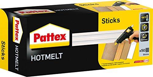 Pattex Stick colla a caldo Hot Sticks, 1 kg, transparente