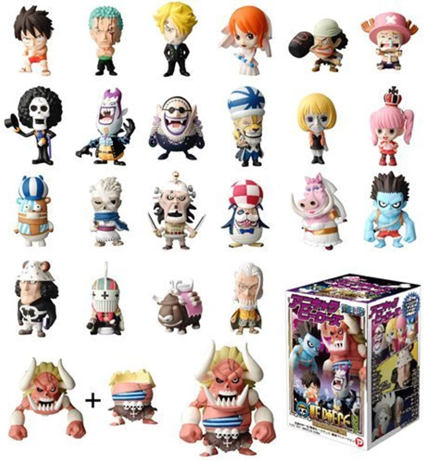 contador genuino Plex Anime Chara Heros IOne Piece Chapter Chapter Chapter of Thriller Park 20 Pieces (PVC Figura)  auténtico