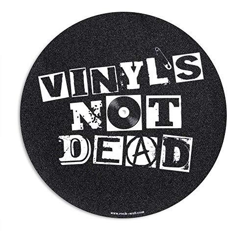 Rock on Wall Feutrine pour Platine Vinyle, Not Dead
