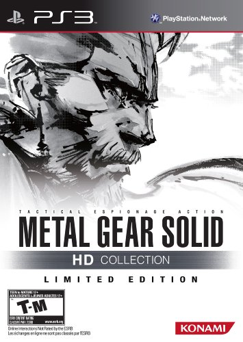 Metal Gear Solid HD Collection Limited Edition PS3 US