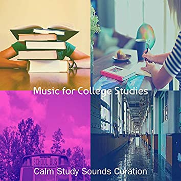 Music for College Studies