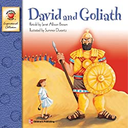 David and Goliath Paperback Book for Kids
