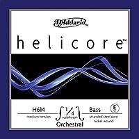 D'Addario ダダリオ ウッドベース(コントラバス)用 バラ弦 Helicore Orchestral E-String H614 1/4M Medium Tension 【国内正規品】
