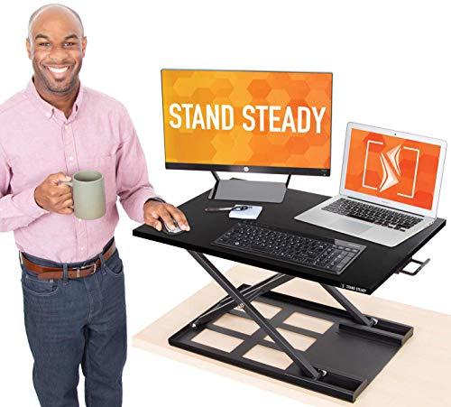 Standing Desk X-Elite Pro Height Adjustable Desk Converter