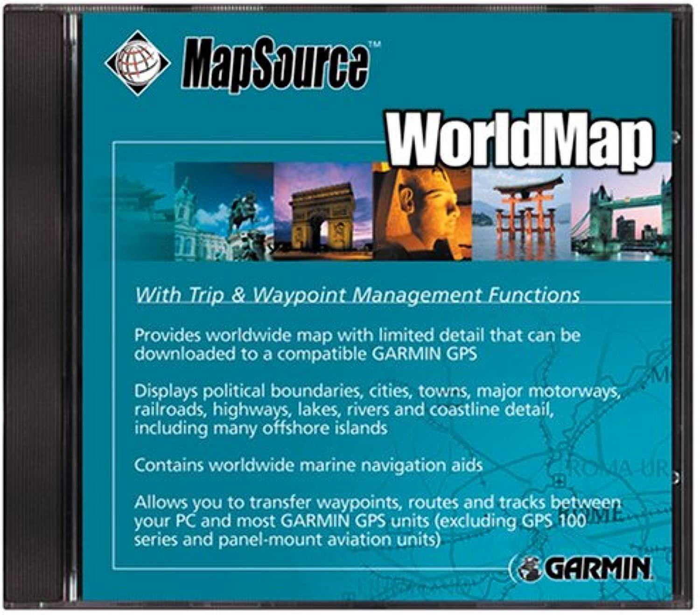 GARMIN(ガーミン) マップソースワールドマップ 1021501