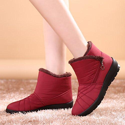 Xie Hiver Bottes Bottes de Neige Les Bottes des Femmes, Plus Velours Chaudes et imperméables Chaussures antidérapantes pour Les Personnes agées Chaussures mères d'age Moyen  acheter 100% de qualité authentique