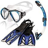 AQUAZON Marlin kit de plongée, kit de nage, kit de plongée...