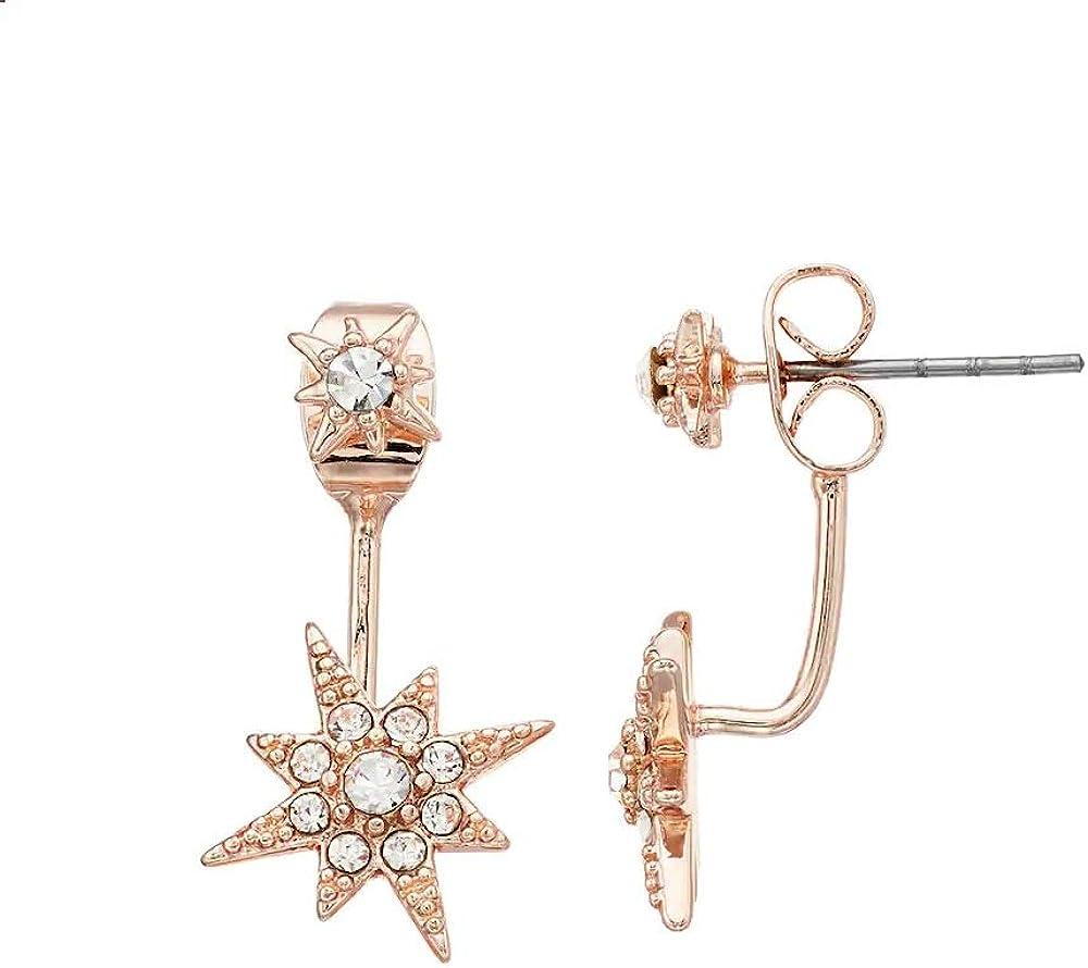 LC Lauren Conrad Cheap price bargain Pave Earrings Star Jacket