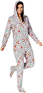 Unisex Kids' 1-Pc Happy Gnomes Footed Pajamas