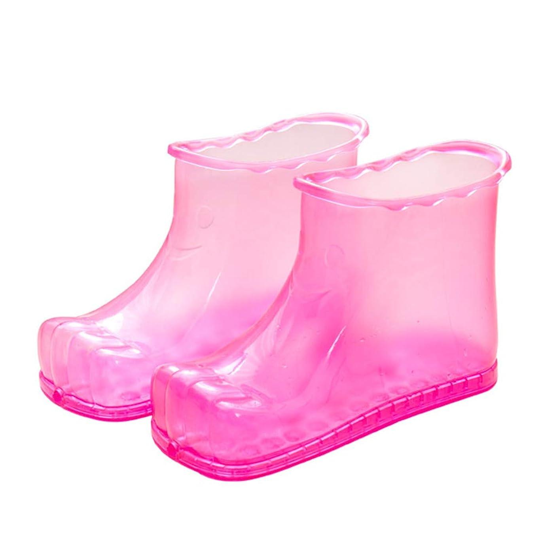 習熟度かなりのリストAylincool ??フットバスマッサージブーツスパ家庭用リラクゼーションバケットブーツ足のケア熱いCompresの靴