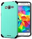 Mint Slim Duo-Shield CASE TPU Hard Cover for Samsung Galaxy Grand Prime G530 Phone (aka Grand Prime Duos, Go Prime SM-G530, G530A, G531, G530H, G530P, G530T, G530A, G530AZ)