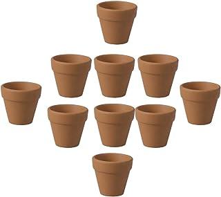Hemoton 20 Piezas Macetas de Barro de Terracota Maceta Macetas de Vivero Maceta de Terracota Maceta de Cerámica para Cactus Suculento DIY Proyectos Artesanales