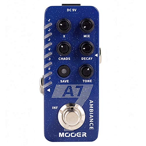 MOOER A7 Ambient Reverb Pedal