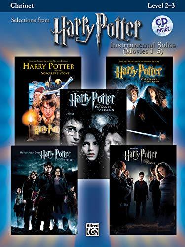 Harry Potter Instrumental Solos (Movies 1-5): Clarinet, Book & Online Audio Software (Pop Instrumental Solos Series)