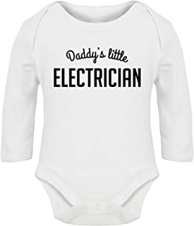 Hippowarehouse When I get Older I Will Lift More Than My dad Baby Romper All in one Piece Unisex