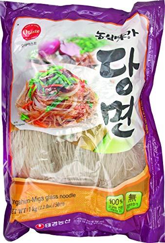 Koreanische Glasnudeln aus Süßkartoffel