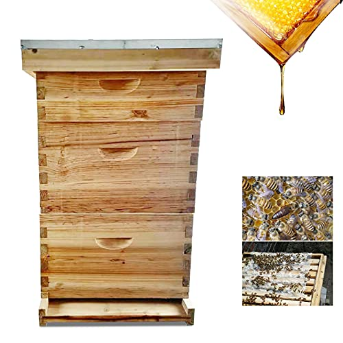 Beekeeping House Wooden Bee House Box High Quality Chinese Fir Beehive...