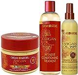 Creme of Nature Argan Oil Twist & Curl Pudding, Tratamiento
