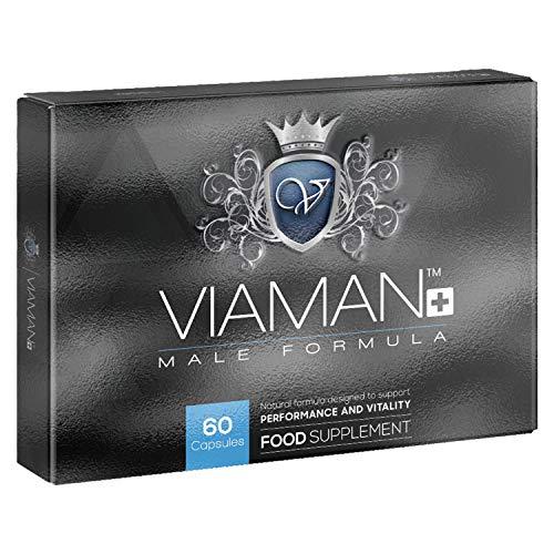 Viaman Plus - Fórmula Natural Para El Rendimiento Masculino - Disfruta De...